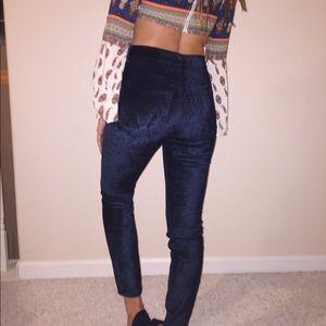 Velvet free people jeans